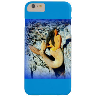 black-haired mermaid blue barely there iPhone 6 plus case