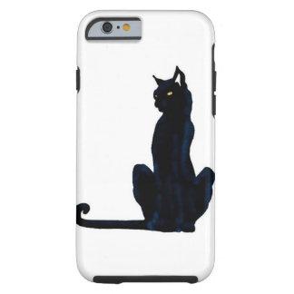 black halloween cat tough iPhone 6 case