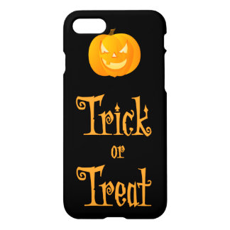 Black Halloween iPhone 7 Cases Trick Or Treat