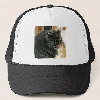 Black Hamster Trucker Hat