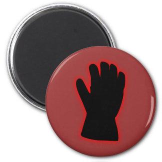 black hand black hand mano negra 2 inch round magnet