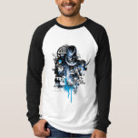 Black Hand - Blue Collage Tee Shirt