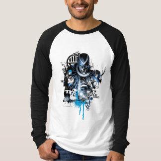 Black Hand - Blue Collage Tee Shirt
