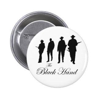 Black Hand Cowboys Button
