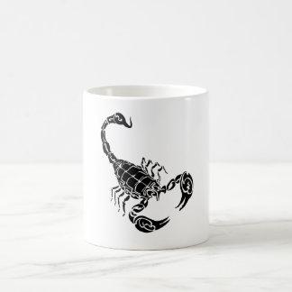 Black Hand-drawn Scorpion Doodle Coffee Mug