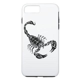 Black Hand-drawn Scorpion Doodle iPhone 8 Plus/7 Plus Case