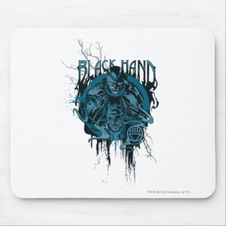 Black Hand - Graphic Collage Mouse Pad
