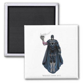 Black Hand with Skull 1 Magnet