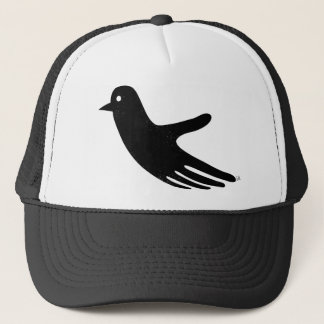 Black HandBird hat