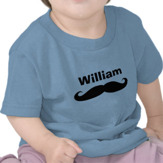 Black handlebar mustache baby creepers and shirts