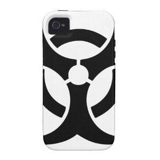 black hardstyle tribal iPhone 4/4S cover