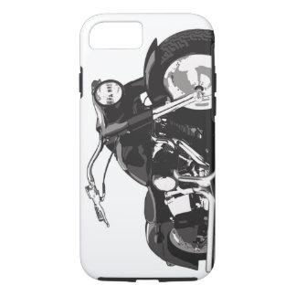 Black Harley motorcycle iPhone 7 Case