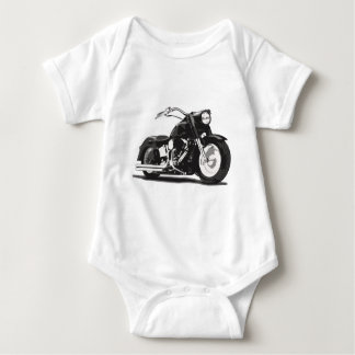 Black Harley motorcycle Tee Shirt
