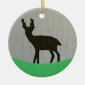 Black Hart ornament