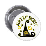 Black Hat Society Button Buttons