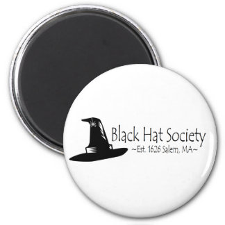 Black Hat Society Magnet