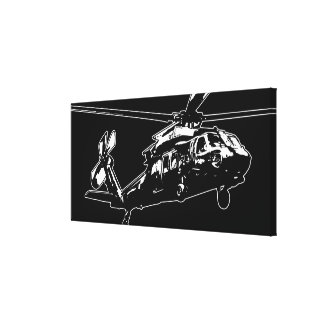 Black Hawk Gallery Wrapped Canvas