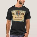 Black Hawk Club Soda Vintage Label T-Shirt
