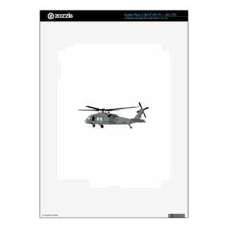 Black Hawk Helicopter iPad 3 Decal