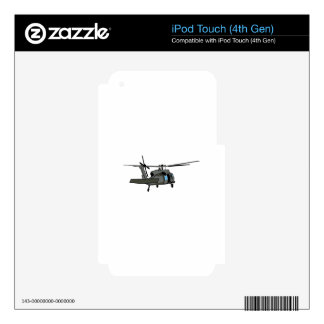 Black Hawk Helicopter iPod Touch 4G Skins