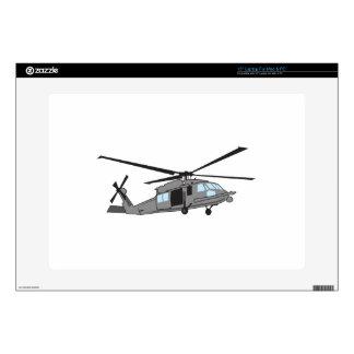 Black Hawk Helicopter Laptop Decals