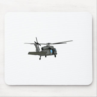 Black Hawk Helicopter Mouse Pad