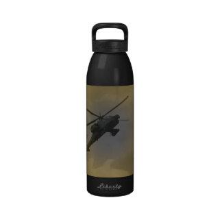 Black Hawk Helicopter Reusable Water Bottles
