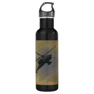 Black Hawk Helicopter Stainless Steel Water Bottle