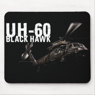 Black Hawk Mouse Pad