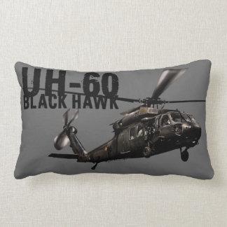 Black Hawk Throw Pillow