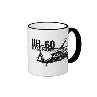 Black Hawk Ringer Mug
