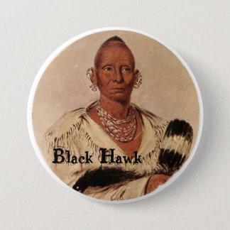Black Hawk Sac Indian Chief Button