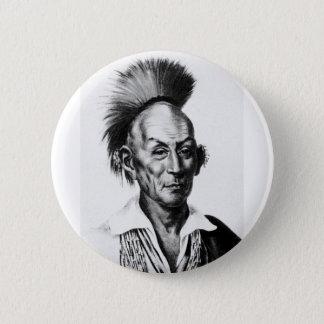 Black Hawk ~ Sac Sauk Indian Chief Button