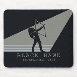 Black Hawk Typewriter Ribbon Mousepad [Retro]