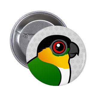Black-headed Parrot Button