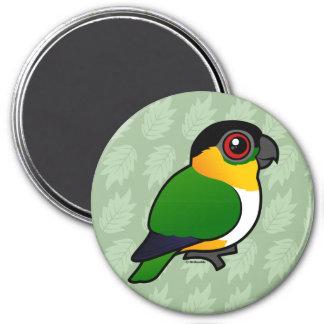 Black-headed Parrot Refrigerator Magnets