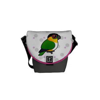 Black-headed Parrot Messenger Bag
