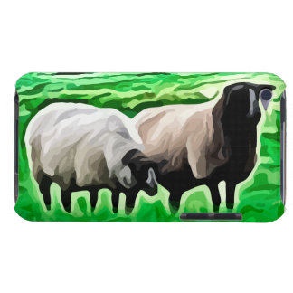 black headed sheep grazing Case-Mate iPod touch case