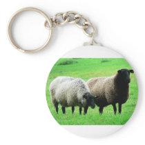 black-headed-sheep keychain