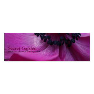 Black Heart 1 - Floral Photography - Business card