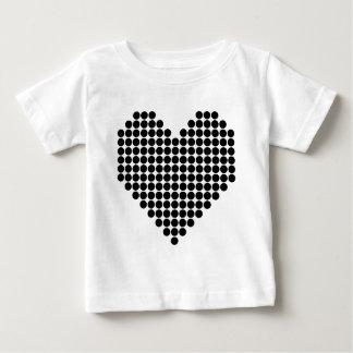 Black Heart Baby T-Shirt