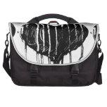 Black Heart Commuter Bag