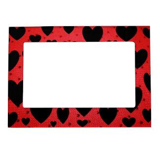 Black Heart Magnetic Photo Frame