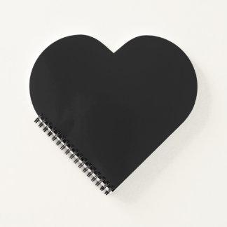 Black Heart Notebook