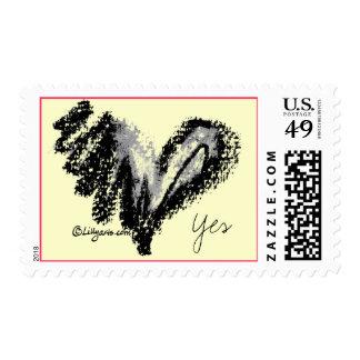 Black Heart Postage