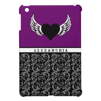 Black Heart, White Wings iPad Mini Case