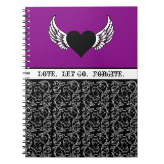 Black Heart, White Wings Note Book