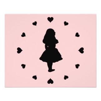 Black Hearts Around Alice Flyer