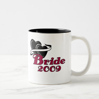 Black Hearts Bride 2009 Two-Tone Coffee Mug