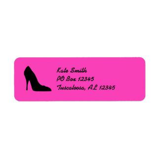 Black Heel Avery Label